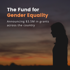 PGCF awards $40,000 in funding for Gender Equality in our Community